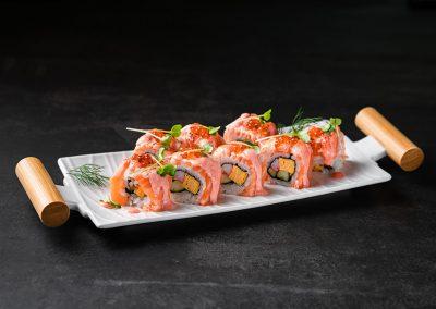 Aburi Salmon Mentaiko Roll