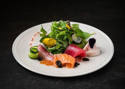 Chura Sashimi Salad
