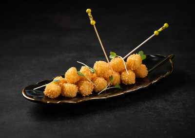 Fried Cheese Dice